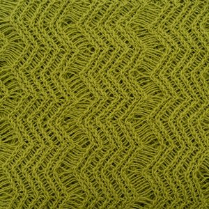 Lime Green Shimmer Knitted Fabric