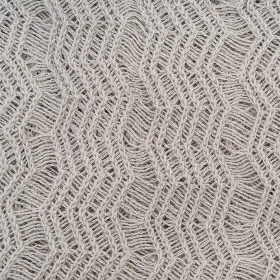 Pearl Grey Shimmer Fabric