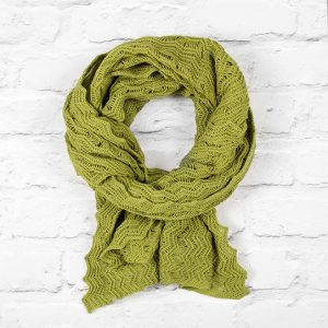 LIme Green Shimmer Wrap