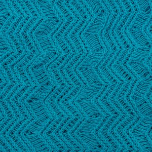 Turquoise Blue Shimmer Lace Fabric
