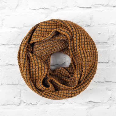 Tumble Mustard and Blanket Infinity Scarf