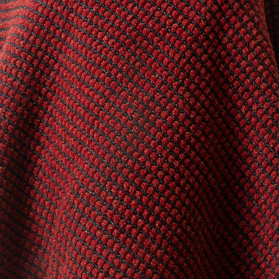 Tumble Red and Black Fabric