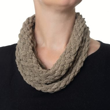 Sage Green Diamond Cowl
