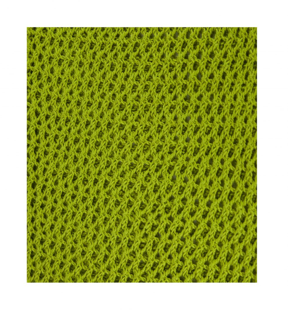 Lime Green Trellis Fabric Swatch