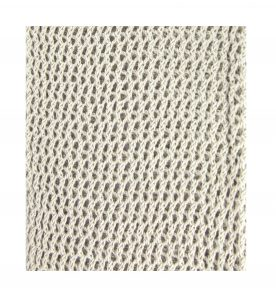 Pearl Grey Trellis Fabric