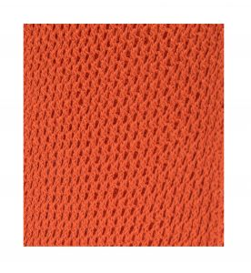 Hot Orange Trellis Fabric