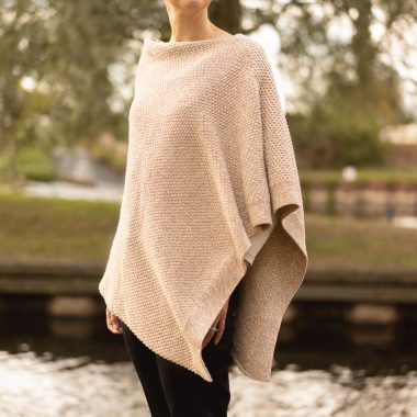 Camel Mix Seed Poncho